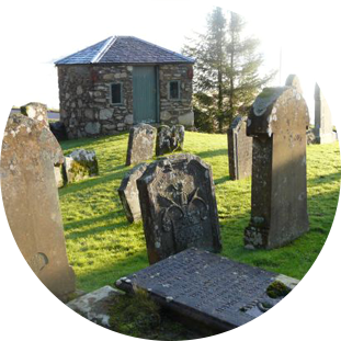 GRAVES AT KILMUN